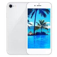 Wholesale Mtk6582 Quad Core Inch - Goophone 4.7 inch i8 smartphone MTK6582 Quad Core 1GB 4GB Show 256G 4g lte WIFI GPS 3G phone