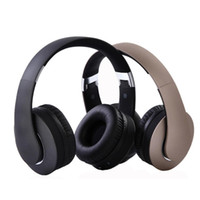 gold over ear headphones Australia - Hot KD-B04 Bluetooth Headphones Portable Stereo Wireless Headset with Mic Over-Ear Noise Isolation Earphones Support TF Card for Phone TV