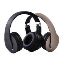 böğürtlen satmak toptan satış-Sıcak satmak KD-B04 Mic ile Bluetooth Kulaklık Taşınabilir Stereo Kablosuz Kulaklık Aşırı Kulak Gürültü İzolasyonu Kulaklık için Destek TF Kart Telefon