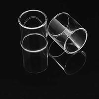 mini tanque de humo al por mayor-Tubo de vidrio transparente Pyrex tubo de vidrio de reemplazo para SMOK TFV8 Big Baby Smok TFV8 TFV8 bebé de lujo TFV4 TFV4 mini tanque TFV12