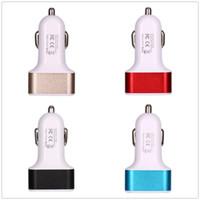 Wholesale smartphone usb port for sale - Group buy Car Cigarette Lighter Socket Port Splitter Charger Power Adapter DC USB V V for All Mobiphone Smartphone