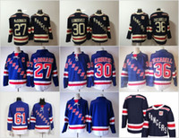 Wholesale Rick Nash Rangers - 2018 Winter Classic New York Rangers Jerseys 27 Ryan McDonagh 36 Mats Zuccarello 30 Henrik Lundqvist 61 Rick Nash Men Stitched Blue White