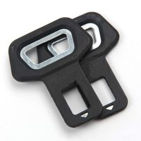 Wholesale selling used cars online - Dual use Car Safety belt Clip Car Seat Belt Buckle Vehicle mounted Bottle Openers Black Hot Selling lin3855