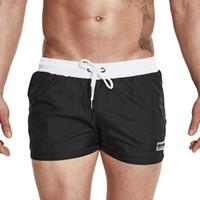 Wholesale briefs thin men - Desmiit Swimwear Men 2017 Summer Swimming Shorts For Men Surf Swim Wear Shorts Beach Trunks Light Thin Quick Drying Swimsuit Man