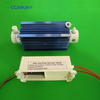 Wholesale ozone generator free shipping - Silica Tube Ozone Generator 10g with Aluminum Alloy Heat Sink For Water Sterilization and Air Deodorization +Free Shipping