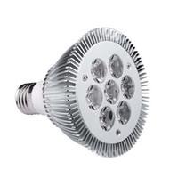 Wholesale cree bulbs par for sale - W Par Par30 led bulbs light E27 Warm white Cool white Non Dimmable spotlight
