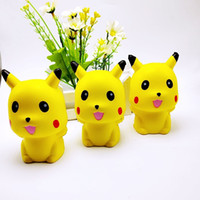 Wholesale Wholesale Wedding Gifts China - New Arrival Decompression Toys Yellow Poke Go Doll Slow Rising Squishies Cartoon PU Simulation Squishy Durable 8 8bq B