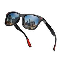 quadratische schutzbrille großhandel-2019 platz Markendesign Klassische Polarisierte Sonnenbrille Männer Frauen Driving Square Frame Sonnenbrille Männliche Schutzbrille UV400 Gafas De Sol