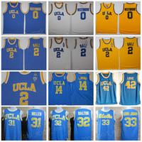 4a23a7130 UCLA Bruins Jersey College Basketball Russell Westbrook Lonzo Ball Zach  LaVine Kareem Abdul Jabbar Reggie Miller Bill Walton Kevin Love Blue