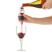 ücretsiz gönderim boks ekipmanları toptan satış-Sihirli Şarap Dekantör Kırmızı Şarap Havalandırıcı Filtre Şarap Temel Ekipman Hediye Çantası Ile Huni Filtresi Perakende Kutusu Ile DHL Ücretsiz Kargo BH79