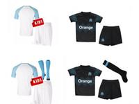 Discount 26 shirt - Top quality 18 19 MARSEILLE KIDS soccer Jerseys L.GUSTAVO 19 PAYET 10 CHILD THAUVIN 26 2018 2019 Jersey L.OCAMPOS 5 SANSON 8 football shirts