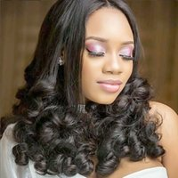Wholesale quality funmi hair resale online - Indian Funmi Curly Hair Bundles Raw Indian Human Hair Weaves Natural Black g A Good Quality Human Hair Extensions No Tangle