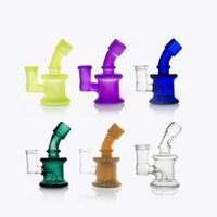 Wholesale designed bongs resale online - Bong New Design Bongs mini Glass Water Pipes Bongs Pyrex Water Bongs with mm Joint Beaker Bong dab rig Water Pipes Oil Rigs
