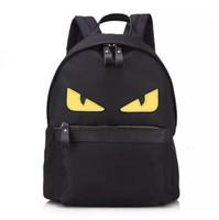 Wholesale kid laptops for sale - Group buy EYE Monster backpack nylon school satchel travel laptop bag for mommy and kids Color