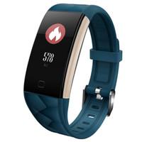 Discount waterproof tracker bracelet - T20 Smart wristband Waterproof fitness bracelet heart rate monitor Activity tracker smart band Pedometer sleep monitor smart watch