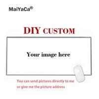 ingrosso grande stampa di immagine-MaiYaCa Super Big Personalizzato fai-da-te personalizzato Il tuo Cool Image Photo Stampato Gamer Gaming PC Computer Tappetino in gomma Mouse Pad rettangolo
