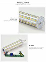 led r7s 5w lamba toptan satış-Dim 220 V LED R7S Yatay Fiş Işık lamba spot ışık 5 W 10 W 12 W 15 W 78mm 118mm 135mm 189mm Işıklandırmalı spotlight Için Blub