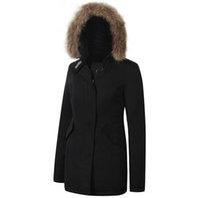 Wholesale Womens Warm Coat Down Jacket - New Fashion Woolrich Women Arctic Anorak Down jacket Woman Winter goose down 90% Outdoor Thick Parkas Coat Womens warm outwear jackets