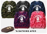 pulôver fácil venda por atacado-Animal impressão de algodão Suéter de Cashmere tempo de Lazer moletom Com Capuz Fácil Solto casaco de moda Tendência cabeça de manga streetwear Jaqueta