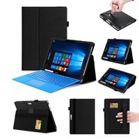 Wholesale leather cases for surface pro for sale - Group buy Ynmiwei For New Surface pro pro Tablet Stand Leather Cover Case For Microsoft Windows Surface pro Case pen