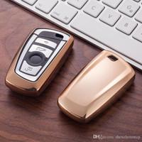 auto schlüssel fall schutz großhandel-Tpu autoschlüssel abdeckung case halter brieftaschen skin set für bmw e30 e36 e90 e60 e84 e36 e53 e63 e90 f10 f30 x1 x3 x4 fob fernschutz