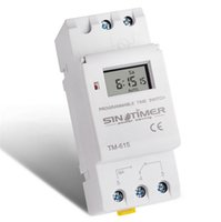 крепление переменного тока оптовых-SINOTIMER электронные еженедельно 7 дней программируемый цифровой переключатель времени реле таймер управления AC 220 В 110 в 24 в 12 В 16A Din-рейку