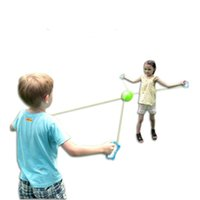 Wholesale sports cars sale for sale - Outdoor Toys Children Gift Hand Parenting Interaction Plastic Improve Reaction Ability Sports Shuttle Pull Ball Hot Sale cs V