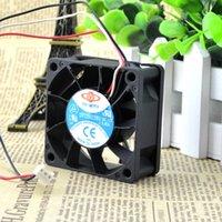 şiddetli fan toptan satış-Orijinal Tayvan için uzun süre 6025 6 CM 12 V0.80A şiddetli PWM hız kontrolü üç hatlı fan DF126025BU
