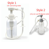 Wholesale enema cleaner - Anal Douche Cleaner Enema Vagina Wash Bottle Tube Anal Sex Toys For Men Woman Gay Nozzle Pump Enema Bag Adult Sex Toys