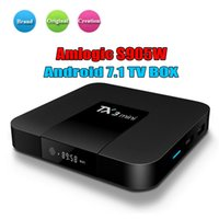 Wholesale best quad core android tv boxes resale online - Amlogic S905W TV Box TX3 Mini GB GB Best Internet TV Box Android better than MXQ PRO X96 TV Box support K H P sample