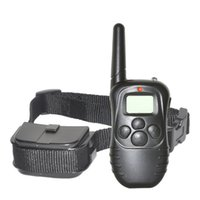 Wholesale Dog Electronic Remote Collars - 998DR-1BL 300M Barking Deterrents Tools Remote Dog Collars Rechargeable Rainproof 100Levels Vibration Shock Electronic Pet Supplies