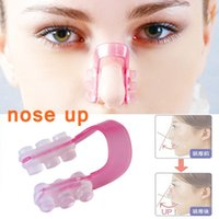 1Set Nose Up Shaping Shaper Lifting + Bridge Straightening Beauty Nose Clip Face Fitness Facial Clipper Корректорный массаж носа