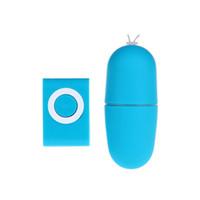 uzaktan kumanda mermi vibratörleri toptan satış-2019 MP3 Uzaktan Kablosuz Titreşimli Yumurta 20 Modu Uzaktan Kumanda Bullet Vibratör Seks Vibratör Yetişkin Seks Oyuncakları 1 * MP3 + 1 * titreşimli yumurta rengi