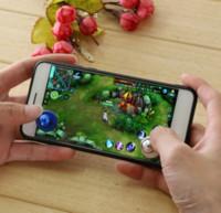 ingrosso giochi joystick android-2019 Joypad del joystick del gioco del bastone di piccola dimensione di vendita mini 2019 per il touch screen telefono cellulare del Android
