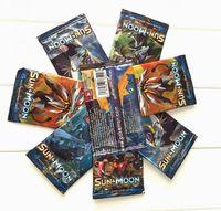 ingrosso gioca giocattoli-Poket Monster Giocare a carte collezionabili Giochi 4 Stili Edizione inglese Anime Pocket Monsters Cards Giocattoli per bambini 324pcs / lotto