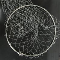metal balık filesi toptan satış-Metal Balıkçılık Mesh Büyük Güç Trammel Net Faydalı Sağlam Yakalamak balıklar Balık tutma Yürüyüş Için Benzersiz Araçları Sahne Iki Boyutu Yeni 8 8hf2 Z