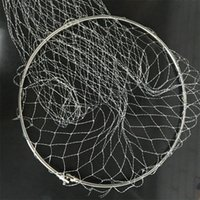 Wholesale unique fishing resale online - Metal Fishing Mesh Huge Power Trammel Net Useful Sturdy Catch Fishes Props Unique Tools For Camping Hiking Two Size New hf2 Z