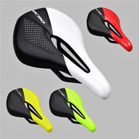 Wholesale light carbon bike online - 2017 EC90 All Carbon Fiber Mountain Bike Road Bike Bicycle Hollow Light Cushion Saddle Bicycle Cushion Bicycle Parts