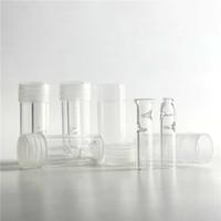 ingrosso filtri per fumatori-Punte per filtri a rullo in vetro con pacchetto di scatole in plastica per tabacco da sigaretta a base di erbe secche