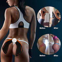 Wholesale battery ma resale online - New Release Product EMS Intelligent Hip Trainer Buttocks Lifting Waist Body Beauty Machine Rechargeable Battery Beauty Massage Relaxtion Ma