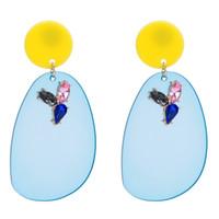 Wholesale wholesale ethnic earrings for women - board drop Earrings for women Luxury boho personality Multilayer Dangle earrings sector Ethnic Vintage geometric fashion Jewelry wholesale