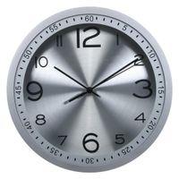 игла для кварцевых часов оптовых-12 inch Creative Quartz Needle Wall Clocks Aluminum Mute Circular Wall Clock Modern Living Room Clock Home Decor 3 Colors
