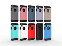 Wholesale armour hybrid shockproof case for sale – best Slim Armor Armour Shockproof Hybrid Hard cover Case for iphone XS MAX XR XS S PLUS Samsung S8 S9 PLUS NOTE9
