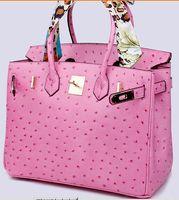 bolsas para novias al por mayor-bolso de la mujer bolsa de cocodrilo cocodrilo al por mayor de la manera bolso de la mujer del totalizador del bolso de la señora Au de FranceTogo bolso de cuero genuino Paris US EUR
