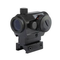 пистолет-точка оптовых-Тактические охотничьи прицелы Red Red Dot Reflex с прицелом High / Low с двойным профильным рельсом Airsoft Пневматические прицелы Red Dot.