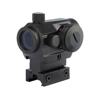gewehrstrecken für die jagd groihandel-Tactical Jagd Rot Grüne Punkt Reflexvisier Scopes mit High / Low Dual-Profil-Schienen-Montage Airsoft Luftpistolen Gewehr Red Dot Scopes.