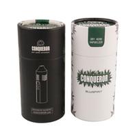 hierba seca vape mods al por mayor-2018 nuevo Conqueror Dry Herb Vaporizer Kit de inicio 2200mAh Batería E-cigs Vape Vapor Pen Box Mod DHL Shipping 0209681