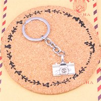 Wholesale camera chain jewelry online - Keychain camera Pendants DIY1 Men Jewelry Car Key Chain Ring Holder Souvenir For Gift