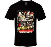 Wholesale famous movie posters - Summer 2018 Famous Brand Assault On Precinct 13 1976s Movie Poster T shirt Cotton Tee Shirts Short-sleeve Designer shirts