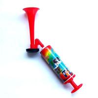 ingrosso corno a mano-Suzakoo Sport Toy Fan di grandi dimensioni Cheer Horn Speaker Cheer leader Fan Horns Stadium hand push pump air horn